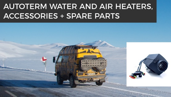 Diesel heaters Air, Flow, Planar, Binar and Teplostar for cars, RVs yacht/boat.