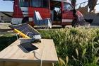 Solartasche 120W mit 2 USB Anschlüssen