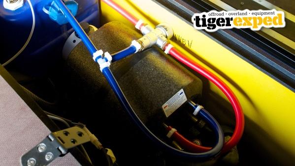 Tigerexped Warmduscher-Kit Mischventil Verbrühschutz Thermostat