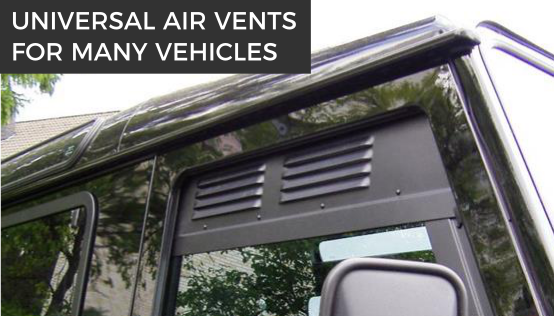 Air vents for your travel vehicle