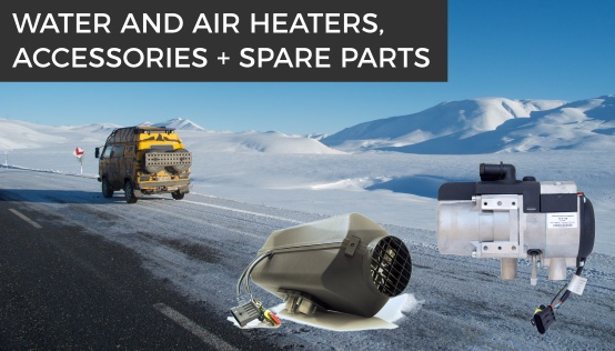 Diesel heaters Planar, Binar and Teplostar for cars, RVs yacht/boat.
