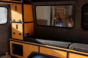 Innenausbau Camper mit STECK+WEG