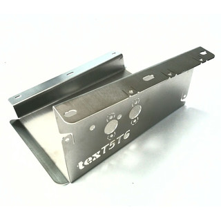 Mounting bracket 2kW air heater VW T5 under belly, stainless steel