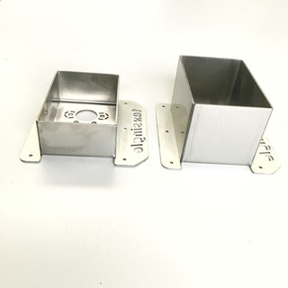 Mounting Flange Air Heaters EVO  for walls/floors up to 83mm, stainless steel
