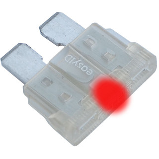easyID Blade Fuse with LED Indicator, 25A