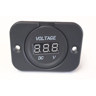 Voltmeter (8-32V) for w/ Frame (Flush Mount)