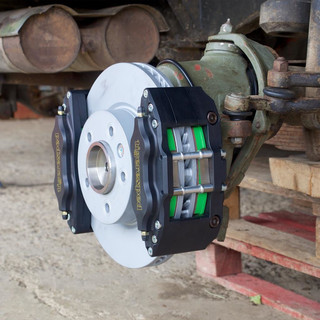 THE Brake 6x6 complete kit with 9x17 steel wheels (no spares