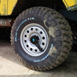 steel wheel 9x17ET65 PCD5x130 84mm M14 custom color