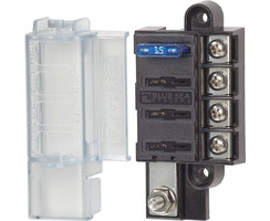 ST Blade Compact Fuse Blocks - 4 Circuits, 5045