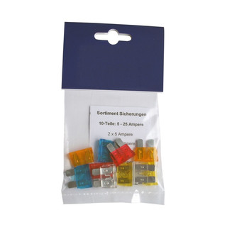 Assortment ATP ATC Blade Fuses 10-pcs.