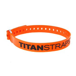 TitanStraps Industrial Super Strap 25 Zurrgurt, orange