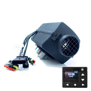 Planar 2D DELUXE URAL EDITION Diesel air heater 2kW 12V incl. high altitude kit, OLED panel and mounting kit
