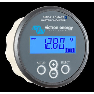 Battery monitor Victron BMV-712 Smart: Bluetooth inside