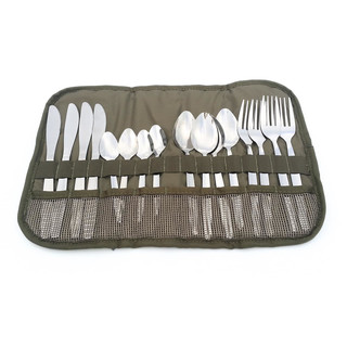 Camp Cover Cutlery Roll-Up w/ Cutlery