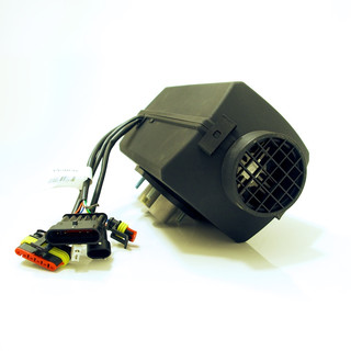 Autoterm Air 2D BASIC URAL EDITION Diesel air heater 2kW 12V w/ underbody  mounting flange VW Bus T5 / T6 (was: Planar 2D)