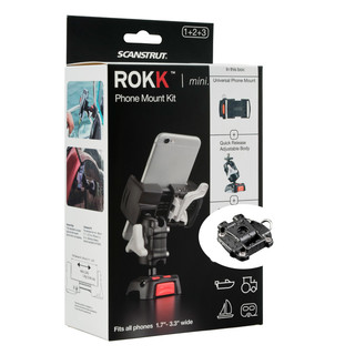 ROKK Mini mount kit for smartphones with screw base