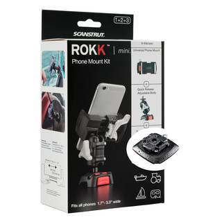 ROKK mini mount kit for smartphones with Self-Adhesive Mount