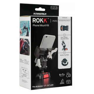 ROKK Mini mount kit for smartphones with suction cup