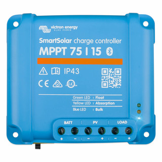Victron SmartSolar MPPT 75/15 solar controller with...