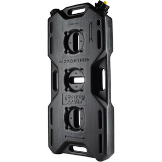 Jerry can extreme drive (14l), 2 necks, black,  for all kinds of liquids