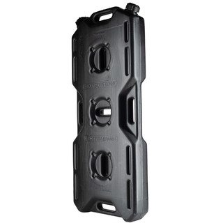 Jerry can extreme drive (18,5l), 2 necks, black,  for all kinds of liquids
