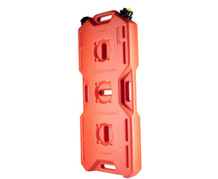 "Jerry can ""extreme drive"" (18,5l), 2 necks, red,  for all kinds of liquids"