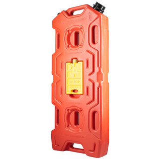 Jerry can extreme kombi (20l+0.4l) with integrated Hi-Lift base and filling nozzle red, for water, fuels, etc.