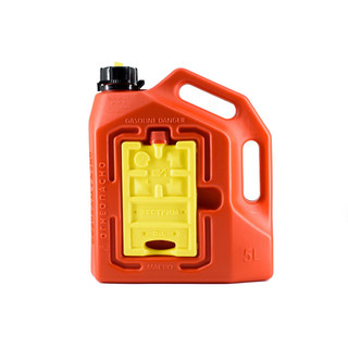 "Jerry can ""extreme next"" (5l+0.4l+0.4l) with integrated Hi-Lift base red"