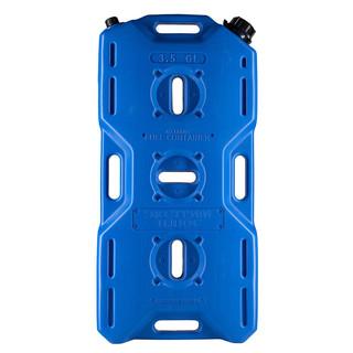 Jerry can extreme (14l) with valve, blue,  for all kinds of liquids