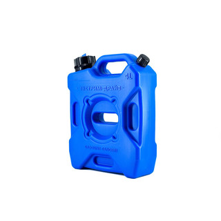Offroad canister with nozzle and vent valve blue 4l