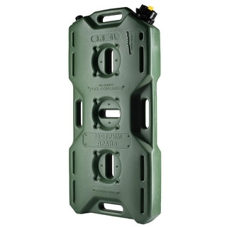 Jerry can extreme drive (4l) with valve, green,  for all kinds of liquids
