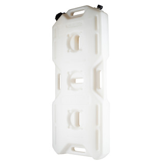 Offroad canister with nozzle and vent valve white 18l