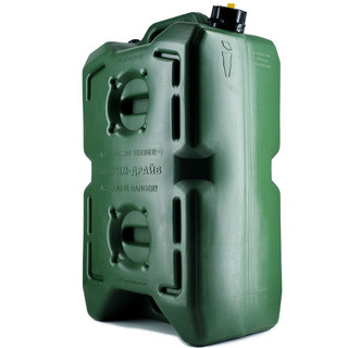 Jerry can extreme drive (30l) green, with 2 openings, for water, fuels, etc.