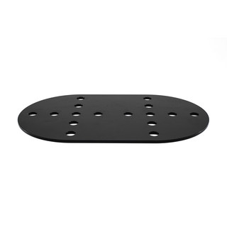 oval plate for mounting extreme jerry cans