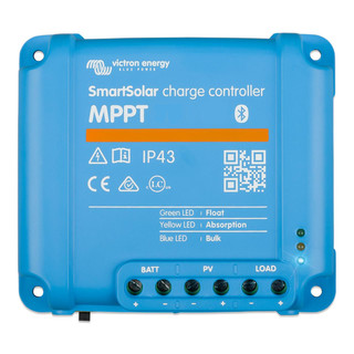 Solar charge controller SmartSolar MPPT 75/10, 75/15, 100/15 & 100/20