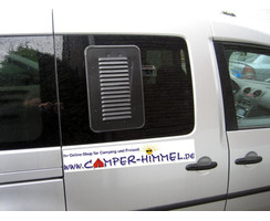 ventilation grid sliding window narrow left VW Caddy 3 / 4 (as of 2004)
