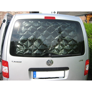 Isoflex Thermomats Komplettset 8-piece - for VW Caddy Maxi (long wheelbase) with tailgate from Bj. 2009