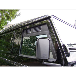 ventilation grid drivers cabin Landrover Defender, 3-doors + 5-doors ( as of 1983)