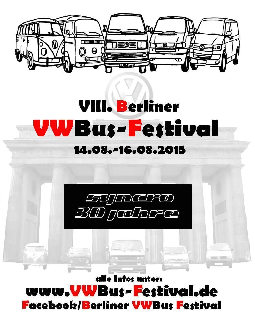 VWBus Festoval Berlin 2015